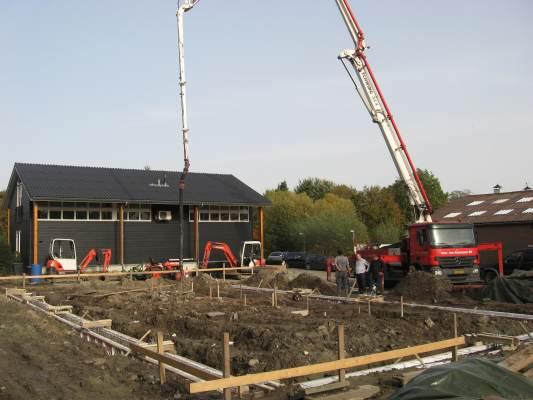 Nieuwbouw bedrijfspand Geldermalsen